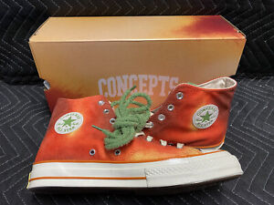 Converse Concepts All Star Chuck Taylor Southern Flame Size 10 Europe Exclusive
