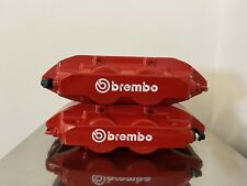 REFURBISHED BREMBO 4 POT FRONT CALIPERS Renault CLIO 197 200 MEGANE 225 RS SPORT