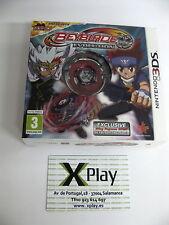 3DS Beyblade Evolution + Peonza Nuevo Precintado Pal España