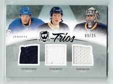 10-11 UD The Cup Trios  Thomas Vanek--Tyler Myers--Ryan Miller  /25  Jerseys