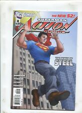 ACTION COMICS #4 - DEBUT OF STEEL! - (9.2) 2012 VARIANT COVER
