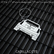 Cadillac CTS Stainless Steel Keychain