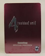 Resident Evil 4 GameStop Collectors Tin Edition (GameCube) Factory Sealed