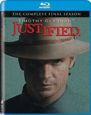 Justified: Final Season [New Blu-ray] UV/HD Digital Copy, 3 Pack