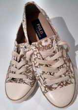 Women shoes Polo Ralph Lauren Parnell canvas Women US 6.5 Broomfield floral NEW