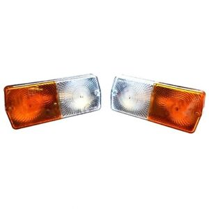 FRONT SIDE LIGHT (PAIR) FOR MASSEY FERGUSON 240 250 265 275 290 TRACTORS.