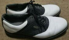 FOOTJOY Men's eComfort Golf Shoes Extra Comfort White Black 12M 57729