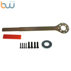 Crank Pulley Tool V2 Screw Wrench Removable Pins Ring 499977000 For Subaru Saab
