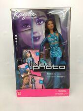 Mattel Barbie Fashion Photo KAYLA doll 2001 New!