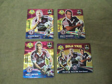 2007 RUGBY LEAGUE GOLD TAZO  TEAM SET - MANLY SEA EAGLES
