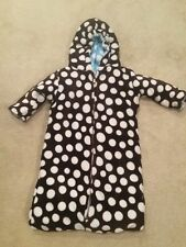 INFANT REVERSIBLE Bunting snowsuit size 6 mo baby boy girls polka dot brown g