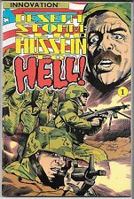 DESERT STORM SEND HUSSEIN TO HELL (VF/NM) INNOVATION COMICS, COPPER AGE WAR