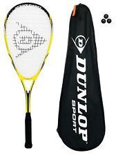 Dunlop Nanomax Lite Squash Raquette avec 3 Squash Balles RRP £ 85