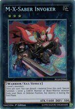 M-X-SABER INVOKER - (BLLR-EN063) - Secret Rare 1st - Yu-Gi-Oh Battles of Legend