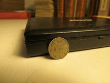 1875 Sweden 10 Ore Silver Coin - Rare Date - NO RESERVE