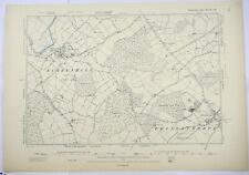 1890 OS 6 inches to a mile Map of Warwickshire – Princethorpe XXVIISW