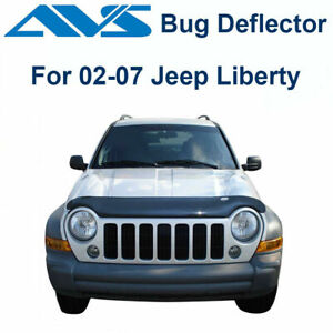 AVS 24726 Bugflector II Bug Deflector Hood Shield Smoke 2002-2007 Jeep Liberty