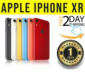 Apple iPhone XR 64GB / 128GB (UNLOCKED) AT&T T-MOBILE **NO FACE ID* ⚫️🟠⚪️❖O/B❖w
