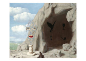 The Big Meeting A2 by Rene Magritte Surrealism High Quality Art Print