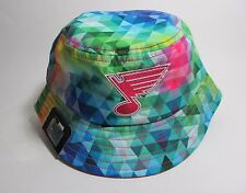 NEW ERA BUCKET NHL ST LOUIS BLUES MULTI COLOR SIZE YOUTH #5