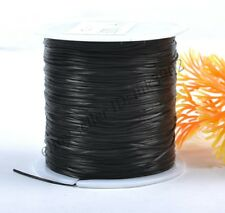 Wholesale 1Roll Top Quality Stretch Elastic Beading White Thread Cord String 0.5