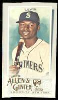 2020 Topps Allen and Ginter Base Mini #159 Kyle Lewis RC - Seattle Mariners