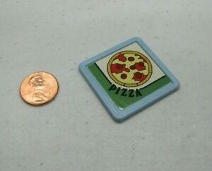 PLAYSKOOL Dollhouse PEPPERONI PIZZA BOX Food Miniature for Loving Family Rare