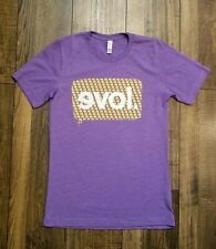 Evol Foods Shirt Burrito Love Purple Small Exclusive Exercise Tacos