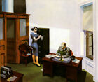 Office at Night by Edward Hopper Poster Repro FREE S/H in USA