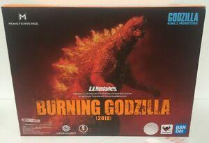 Bandai Godzilla: King of the Monsters S.H.MonsterArts Burning Godzilla 2019 USA
