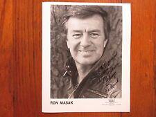 RON MASAK (Murder She Wrote/Angela Lansbury)Signed  8 X 10  Glossy  B & W Photo