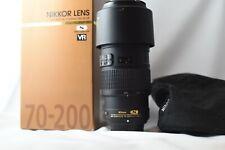 Nikon Nikkor 70-200 Afs VR F/4
