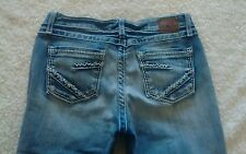 Buckle BKE KATE Thick Stitch Medium Wash Bootcut Jeans Womens Size 30 x 29.5
