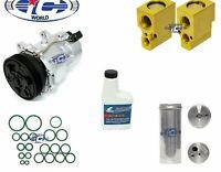 A/C Compressor Kit Fits Audi TT Quatro Jetta Golf Beetle OEM SD7V16 77554