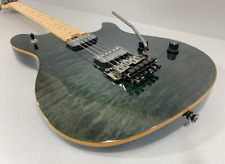 EVH Wolfgang Standard Quilt Maple Top Trans Black
