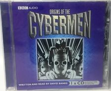 Doctor Who ORIGINS OF THE CYBERMEN CD Audio Drama BBC Read by David Banks