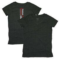 Reebok Women's CrossFit 2011 Games Open V-Neck Tri-Blend (Black) T-Shirt