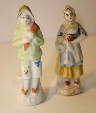 Vintage Farmer Couple Dutch Figurines Japan 2 Pieces