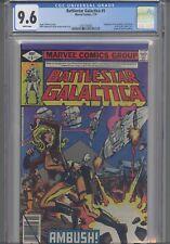 Battlestar Galactica #5 CGC 9.6: 1979 Marvel Lost Planet of the Gods: New Frame