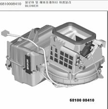 Genuine Blower & Evaporator for SSANGYONG REXTON +Single Auto A/C #6810008415