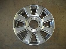 "Ford F250 F350 Truck Alloy Rim Wheel 2017 17 20"" POLISHED HC3C-1007-HA OEM USED"
