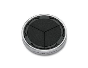 Genuine Leica Auto Lens Cap for D-LUX 7 Silver & Black #19529