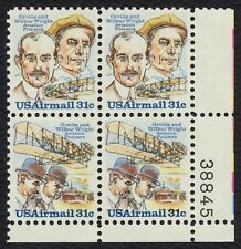 #C92a 31c Wright Brothers, Plate Block [38845 LR] Mint ANY 4=
