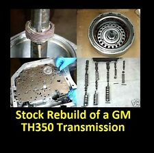 HOW TO REBUILD TH350 AUTOMATIC TRANSMISSION DVD VIDEO MANUAL TURBO TH-350 350C