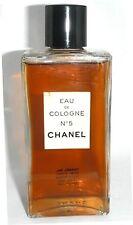 Vintage Chanel No 5 Eau de Cologne 4oz Splash New York Distributor from 40's-50'