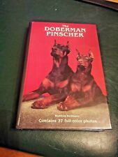 The Doberman Pinscher by Kerfmann 1985 w/ 37 Color Photographs