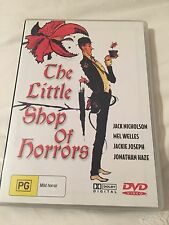 1 x The Little Shop of Horrors DVD As New