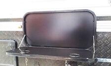 PICNIC TABLE for CARAVANS/ MOTORHOMES ~BLACK~METAL~ FOLDABLE ~ BRAND NEW
