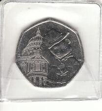 Paddington Bear at St Pauls 50p Fifty Pence Coins Uncirculated 2019 Free P&P