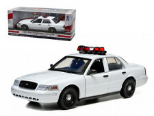 Greenlight 1:18 Ford Crown Victoria Unmarked Police Car w Lights & Sounds 12921